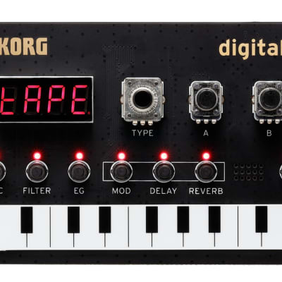 Korg NTS-1 NuTekt Digital DIY Synthesizer