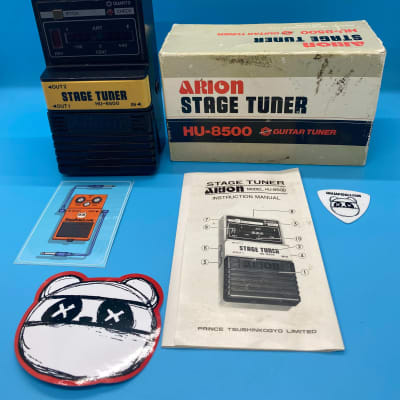 Arion HU-8500 Stage Tuner w/Original Box | 1980s Tuner | Fast Shipping!