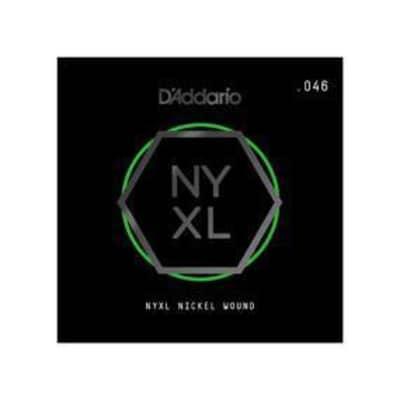 D'Addario NYXL Single Guitar String - .072