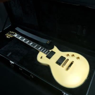 ESP Eclipse II 2006 Vintage White EMG Pickups Sperzel Locking Tuners Ebony Fretboard + Hardcase