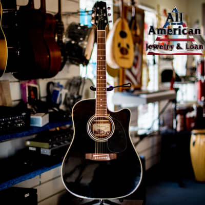 Takamine EF-341SC Electric Acoustic Dreadnaught for sale