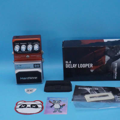 Hardwire DL-8 Delay Looper w/Original Box | Fast Shipping!