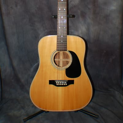 Video Demo 1976 Tama Model 3557-12 Solid Woods Spruce Jacaranda New Strings Original Hard Shell Case for sale