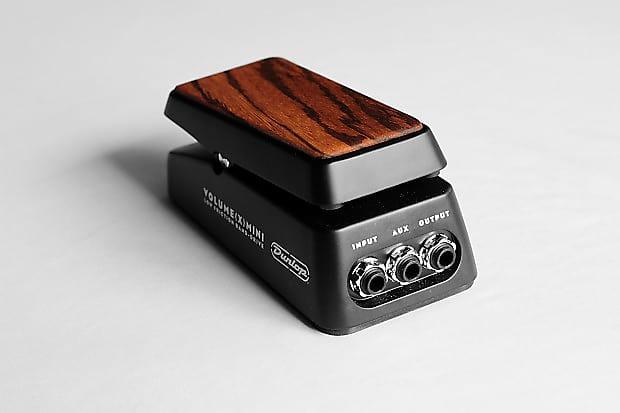 zebra wood topper for dunlop volume x mini reverb. Black Bedroom Furniture Sets. Home Design Ideas