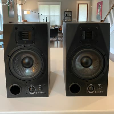 ADAM Audio A7 Active Nearfield Monitors (Pair) Black