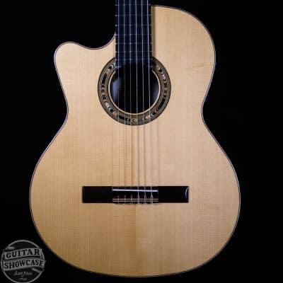 Kremona Left Handed F65CW Fiesta Cutaway Classical Electric Guitar w/ Gig Bag for sale