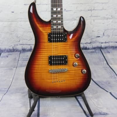 Schecter CUSTOM SHOP Hollywood classic 3 tone burst in case for sale