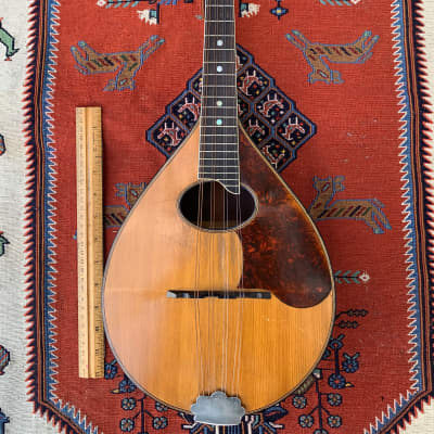Vintage Regal Style A Bent Top Mandolin 1920's Brazilian Rosewood and Spruce for sale