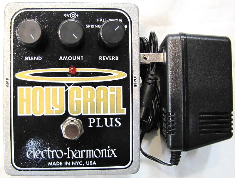 used electro harmonix ehx holy grail plus variable reverb reverb. Black Bedroom Furniture Sets. Home Design Ideas