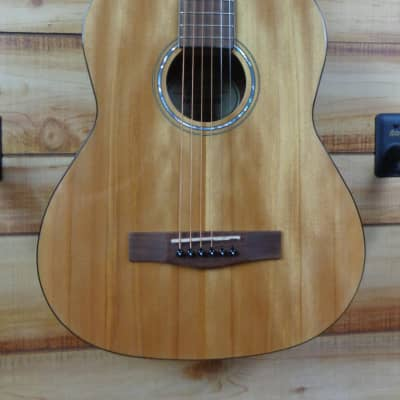 New Fender® FA15 3/4 Steel String Acoustic Guitar Natural w/Gigbag