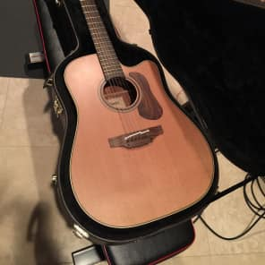 Takamine P3DC-12 Pro Series 3 12-String Dreadnought Cutaway Acoustic/Electric Guitar Natural Gloss
