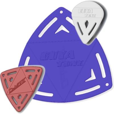 (3) Guyatone /DeMont Sonic Engineered Molded Guitar Picks - Sampler Pack