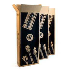 3-Pack Boxes: Reverb Guitar and Keyboard Box - Fits Most Sizes