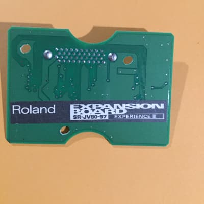 Roland SR-JV80-97 Experience III Expansion Board