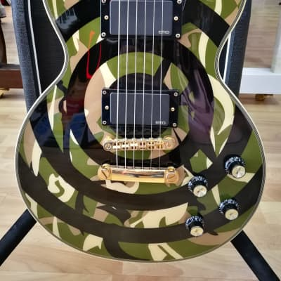 Epiphone Les paul custom zakk wylde camo 2011 Camo for sale