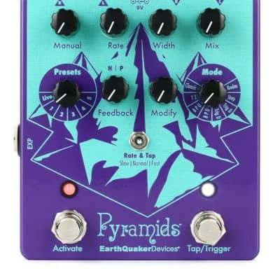 EarthQuaker Devices Pyramids Stereo Flanging Device Flanger - Brand New