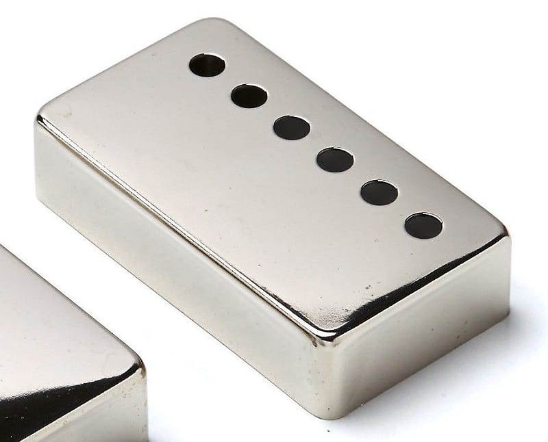 Humbucker Nickel Silver Cover Set Montreux Retrovibe Fits Les Paul ®