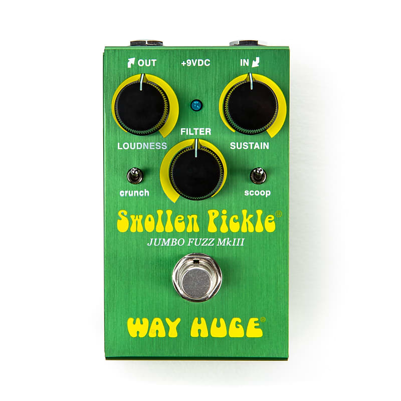 Way Huge WM41 Smalls Swollen Pickle MKIII Mini Fuzz Effects Pedal