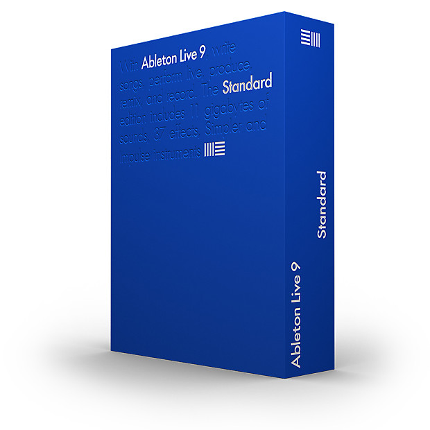 ableton live 9 standard download upgrade from lite reverb. Black Bedroom Furniture Sets. Home Design Ideas