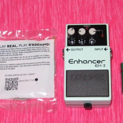 very lightly used Boss EH2 Enhancer +bat & strings (1991 early model) No Longer Made (NO box, NO pw)
