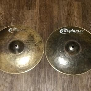 "Bosphorus 13"" Turk Series Dark Hi-Hat Cymbals (Pair)"