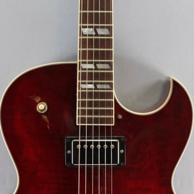 Gibson Es-175 Figured Wine Red for sale