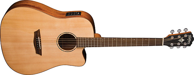 washburn all solid wood wd150swce acoustic electric guitar reverb. Black Bedroom Furniture Sets. Home Design Ideas