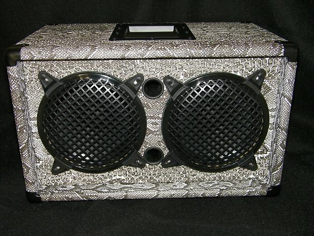 snake skin earcandy bailey 2x8 guitar amp speaker cab cabinet reverb. Black Bedroom Furniture Sets. Home Design Ideas