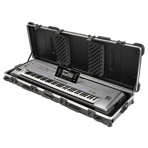 yamaha yctyros76 hard shell case for tyros 76 key keyboard reverb. Black Bedroom Furniture Sets. Home Design Ideas
