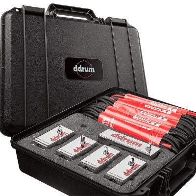 ddrum DDR16-CE Chrome Elite Tour Trigger Pack (5pc) with Cables & Case