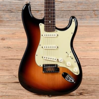Fender American Deluxe Stratocaster Sunburst 2005 for sale