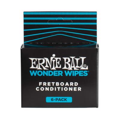 Ernie Ball Wonder Wipes Fretboard Conditioner Six Pack