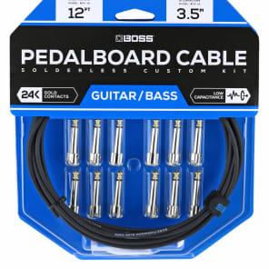 Boss BCK-12 Solderless Pedalboard Cable Kit - 12'