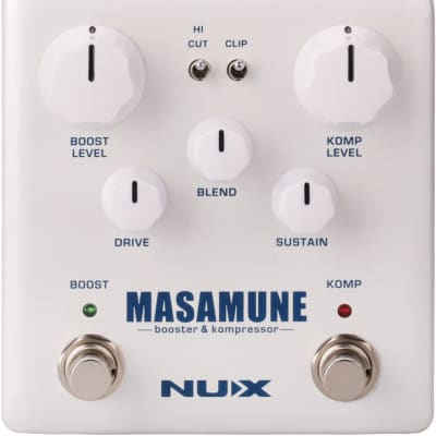 NUX  Masamune (NBK-5) Guitar Analog Compressor and Booster Pedal