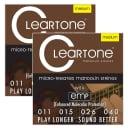 Cleartone 7511 Medium Mandolin Strings 11-40 2-Paks