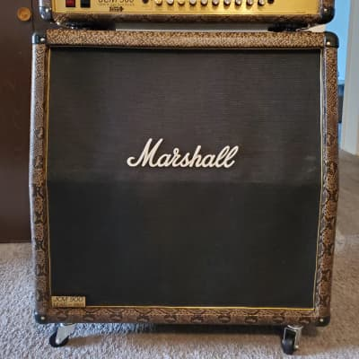 Vintage NOT reissue 1994 Marshall JCM 900 100 watt head & 1998 300 watt 4x12 JCM 900 1960A Cab