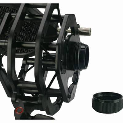 BOP Shock mount and Pop Filter for Lewitt LCT studio mics, Audio-Technica, Neuman, etc shock-mount