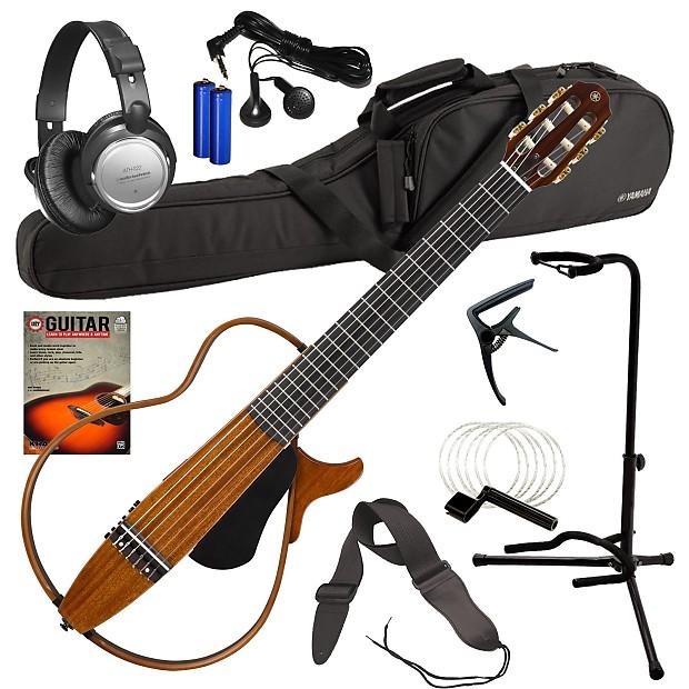 yamaha slg200nw silent guitar natural complete guitar reverb. Black Bedroom Furniture Sets. Home Design Ideas