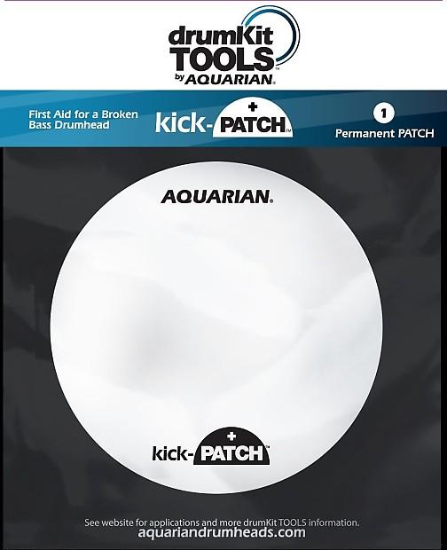 aquarian kickpatch bass drum head repair kit reverb. Black Bedroom Furniture Sets. Home Design Ideas