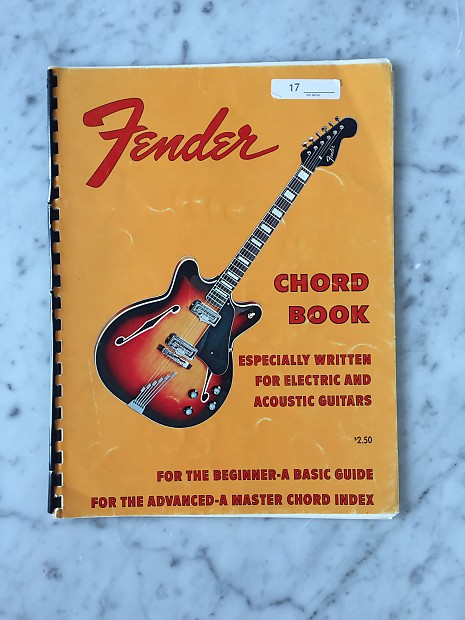 1960s Fender Chord Book Collector Vintage Advertising Reverb