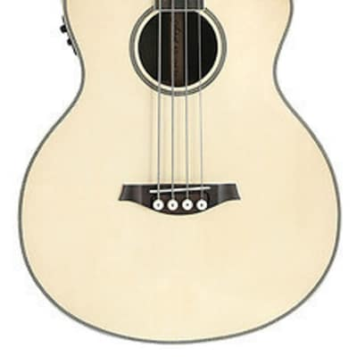 Artist ABJ50CEQ Electro-Acoustic Bass with Cutaway and EQ  Gloss Natural for sale