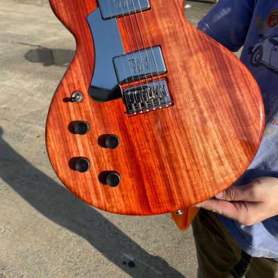 Travis Bean Designs TB1000S Standard Left handed 2021 Rainbow Padauk for sale