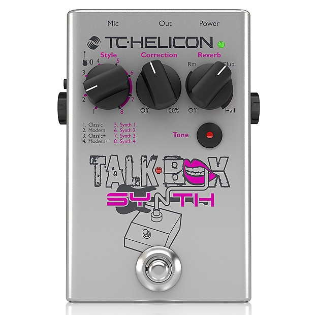 tc helicon talkbox synth guitar vocal effects pedal picks reverb. Black Bedroom Furniture Sets. Home Design Ideas