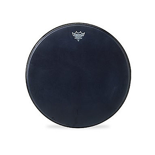remo 20 inch powerstroke 3 black suede bass drum head reverb. Black Bedroom Furniture Sets. Home Design Ideas