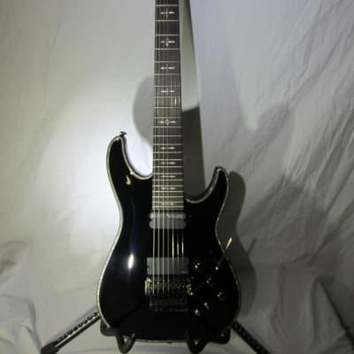 Schecter Hellraiser C-7 FR S Sustainiac 7-String Black W/OEM HSC for sale