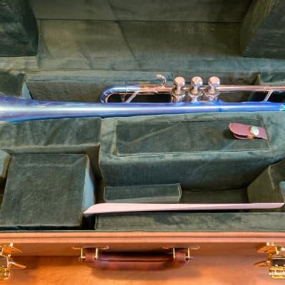 Schilke SC4-OT-S Soloiste Series Custom C Trumpet Silver #67813