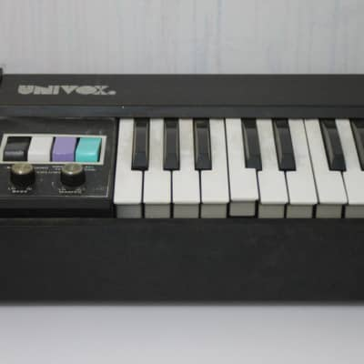 Univox CP110 1970's Black 61 key