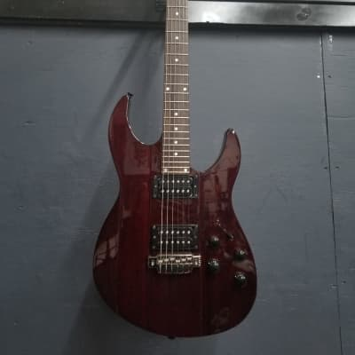 Line 6 JTV-89 James Tyler Variax Modeling Electric Guitar Blood Red for sale