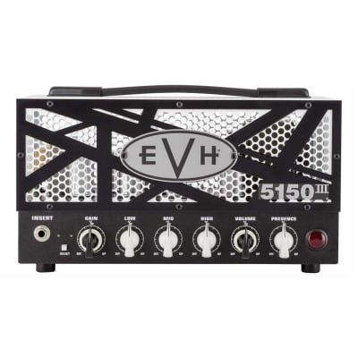 EVH 5150 III 15W LBXII Valve Lunchbox Twin Channel Head for sale