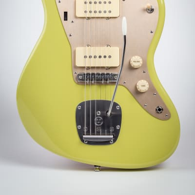 Beardsell Guitars Swingmaster 3-pickup 2017 Avocado Green for sale